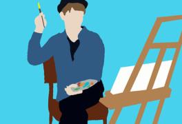 Výtvarné maturitní práce na GYNOME
