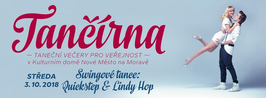 Tančírna – QUICK STEP & LINDY HOP