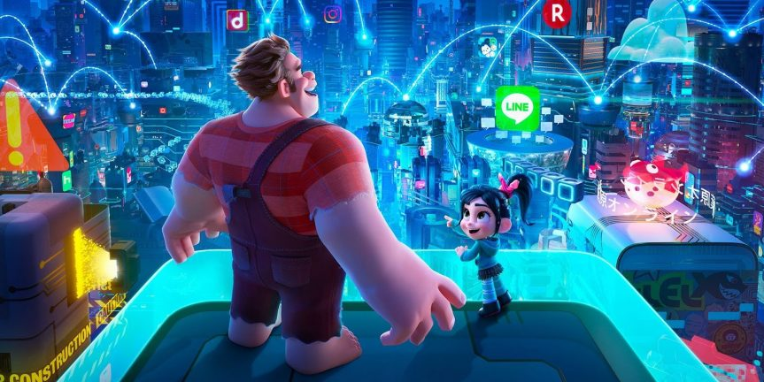 Kino – Raubíř Ralf a internet