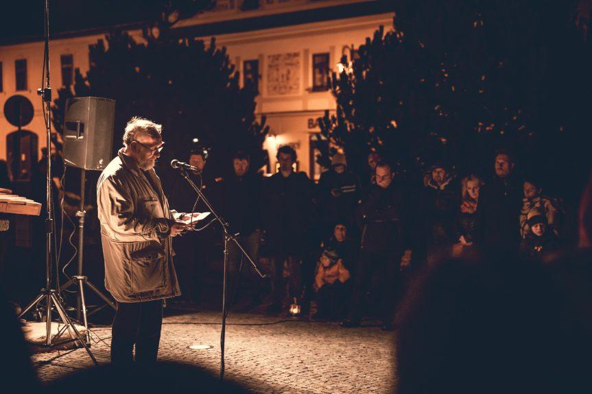 30 let svobody, 17. listopad v Novém Městě na Moravě