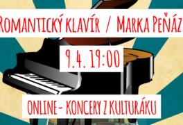 Romantický klavír Marka Peňáze – ONLINE STREAM
