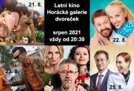 Letní kino – srpen 2021